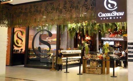 Cacau Show abre maior loja da América Latina no MorumbiShopping