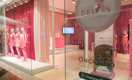 Vitrine do DiamondMall