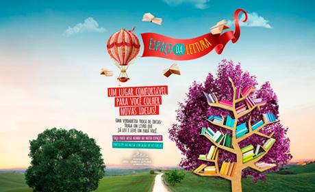 RibeirãoShopping cria Espaço da Leitura para doação e troca de livros