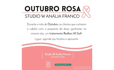 Shoppings da Multiplan aderem ao Outubro Rosa