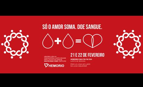 ParkShoppingCampoGrande e Hemorio promovem coleta de sangue