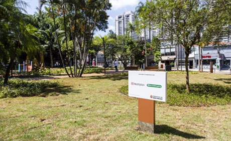 Multiplan and MorumbiShopping deliver Sol Peres Square to São Paulo