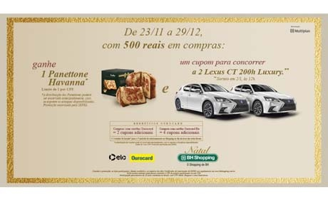 Multiplan's Christmas draws 66 cars, trips, gift vouchers and various other gifts