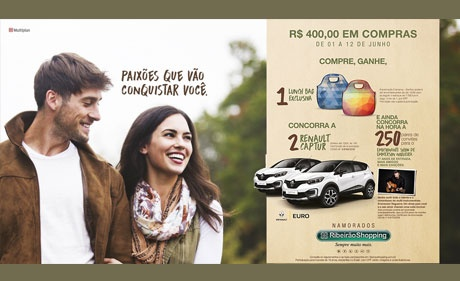 Declare seu amor no Dia dos Namorados e concorra a carros, viagens e brindes exclusivos.