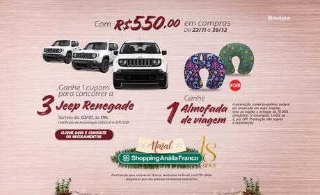 Shoppings promovem sorteios de carros, vales-presente e troca de brindes no Natal