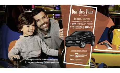 Promoções e eventos marcam Dia dos Pais nos shoppings Multiplan